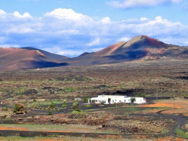 Casa terrera en La Geria de Lanzarote