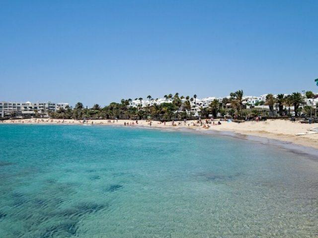 Costa Teguise Lanzarote Playa de las Cucharas