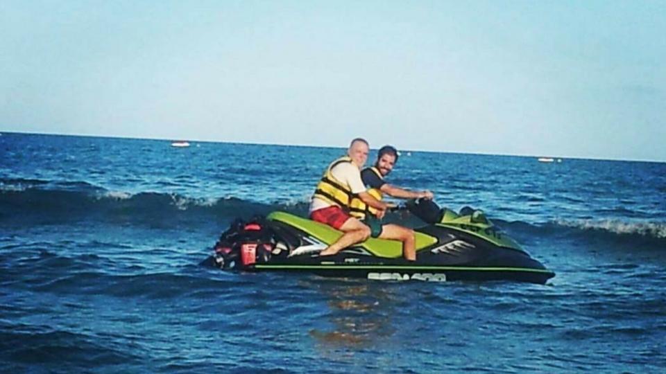 Actividades acuaticas en Lanzarote en motos acúaticas