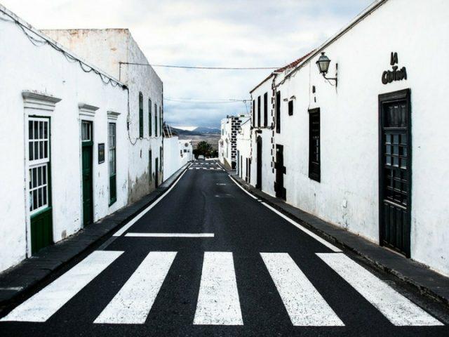Avenida popular de la Villa de Teguise