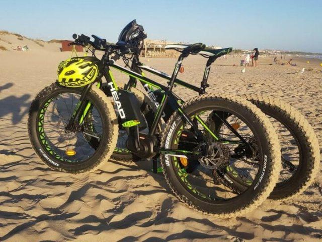 Descubrir las playas de LAnzarote en bici