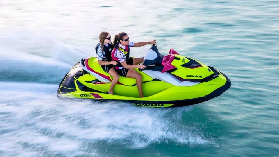 Diversión en Lanzarote; Motos náuticas