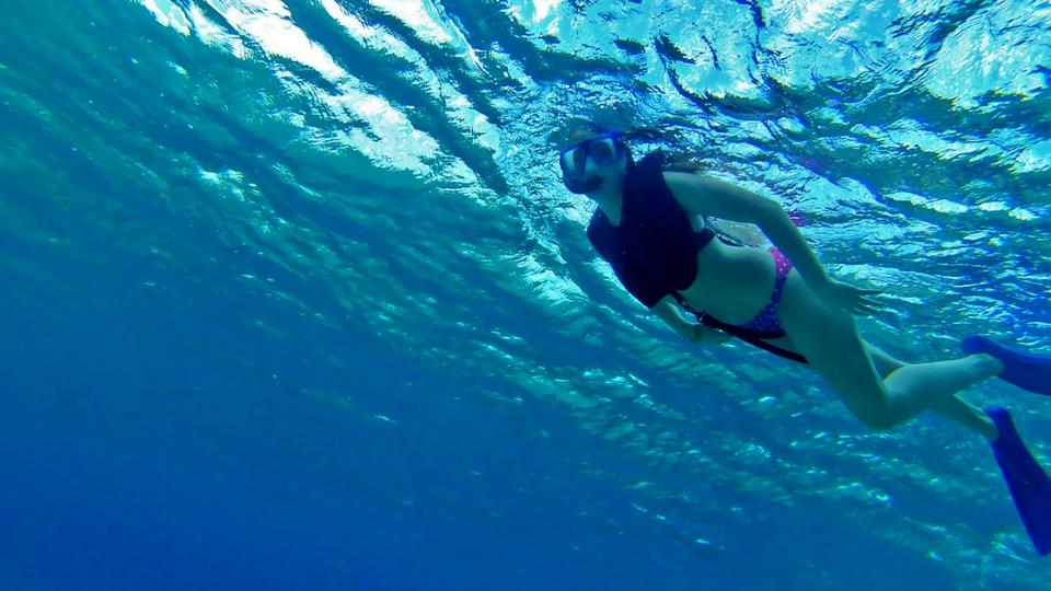 Diversión en Puerto Calero; Snorkel