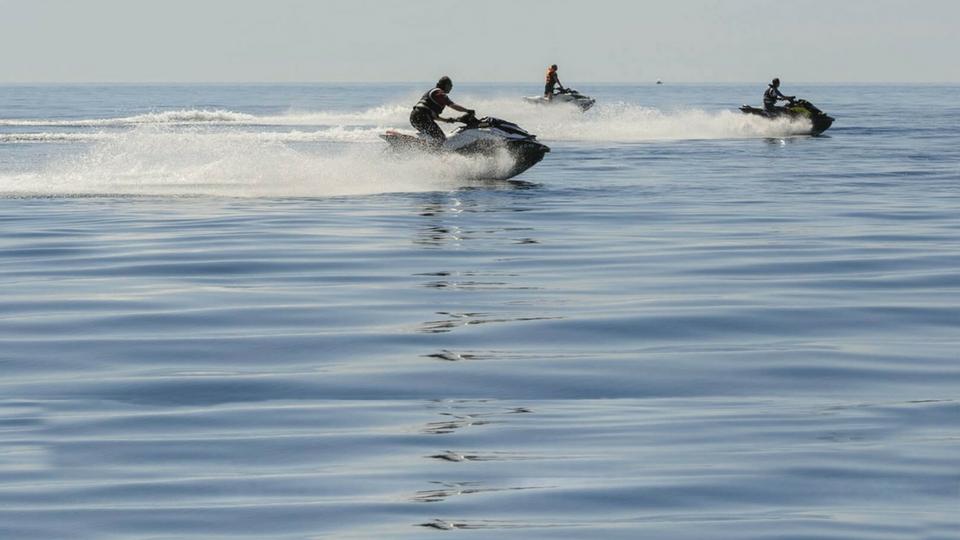 Diversión y actividades en Lanzarote, Motos de agua Puerto del Carmen
