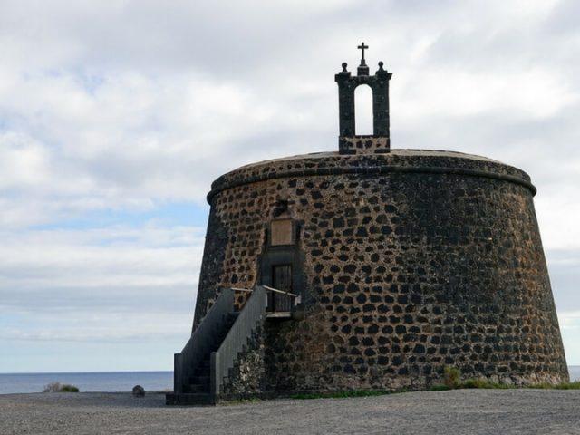 El Castillo del águila en Playa Blanca Lanzarote