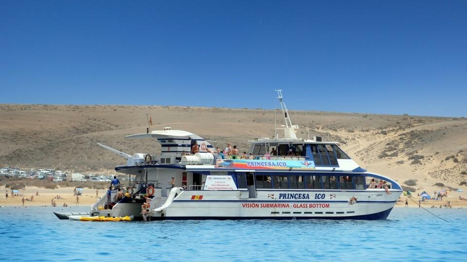 Excursión marítima Isla de Lobos