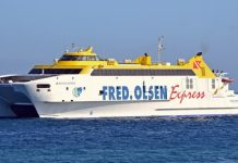 Excursión marítima Ferry Fred Olsen Lanzarote - Fuerteventura