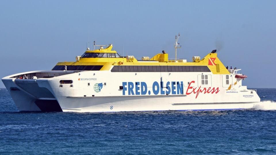 Excursión marítima Ferry Fred Olsen Lanzarote - Fuerteventura