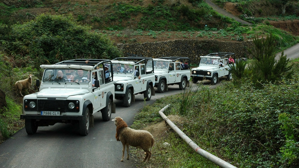 Jeep Lanzarote zona norte