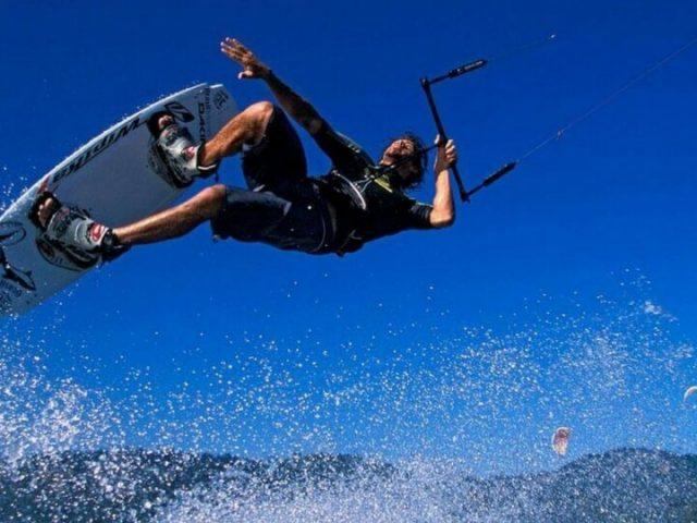 Kitesurf en Famara