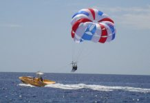 Parascending Lanzarote