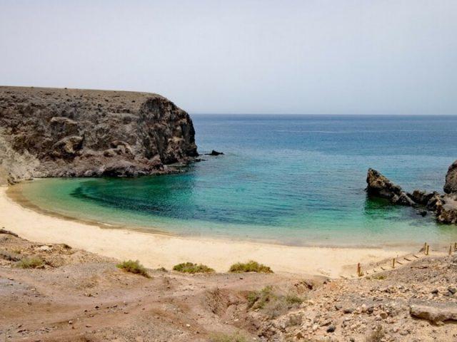 Pasear por las playas de Lanzarote