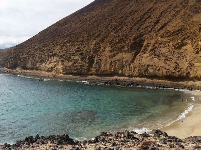 Playas en Isla de La Graciosa
