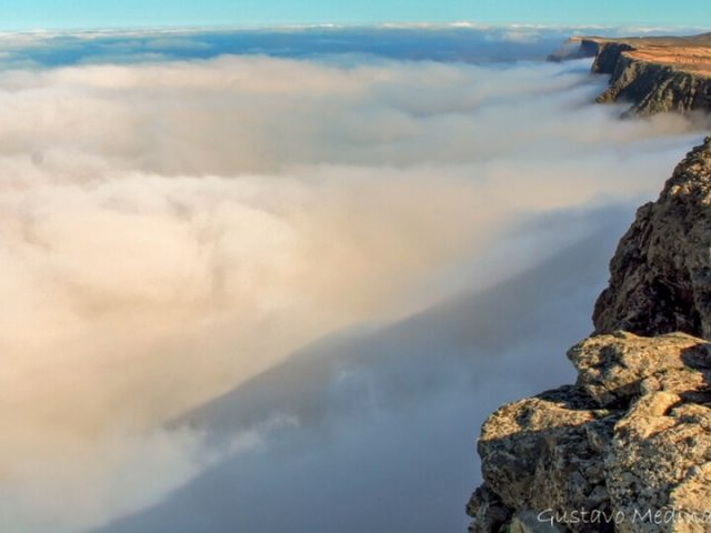 Risco mar de nubes