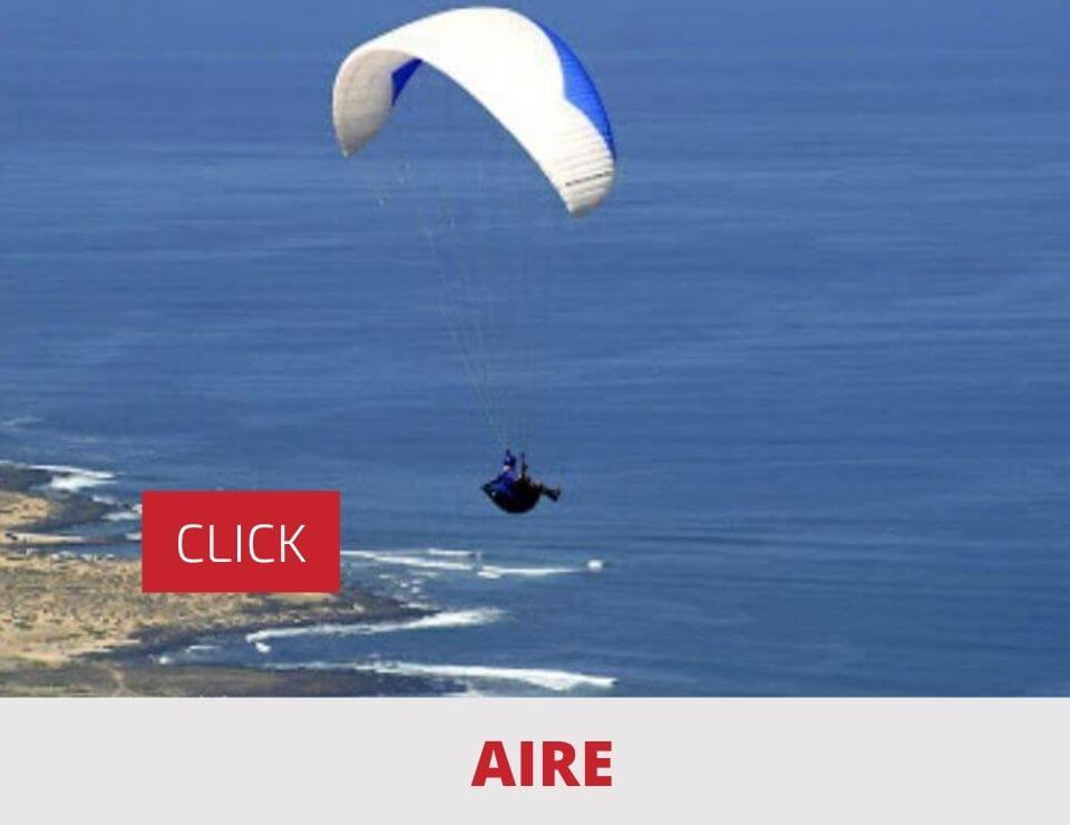 Actividades Aire en Lanzarote