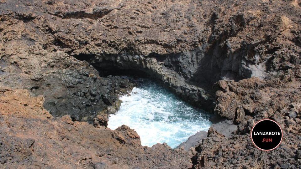 La Caldera del agua - Guatiza