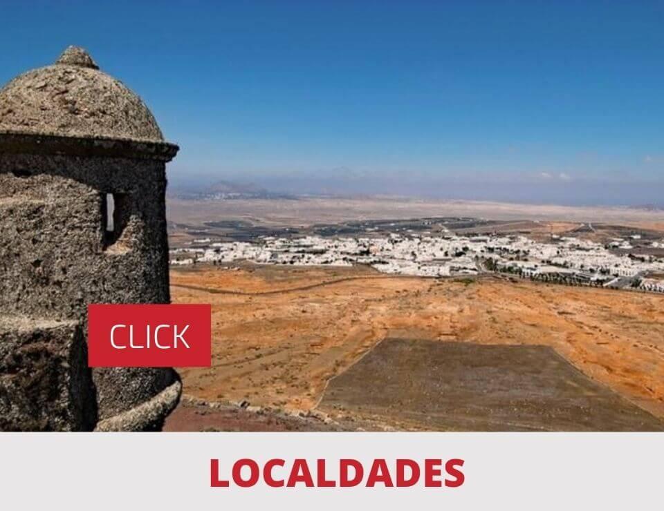 Localidades en Lanzarote