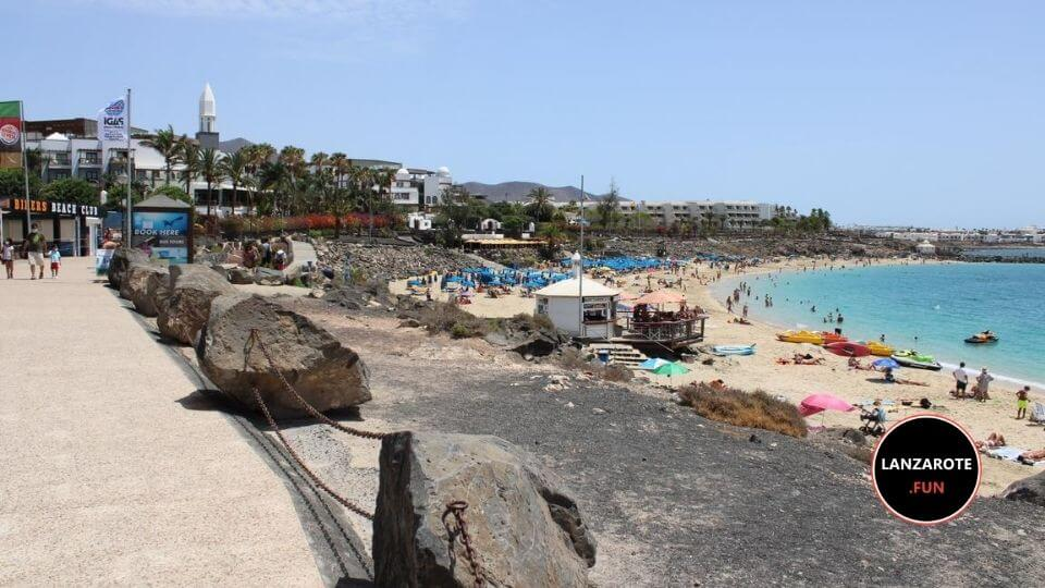 Playa Dorada en Playa Blanca