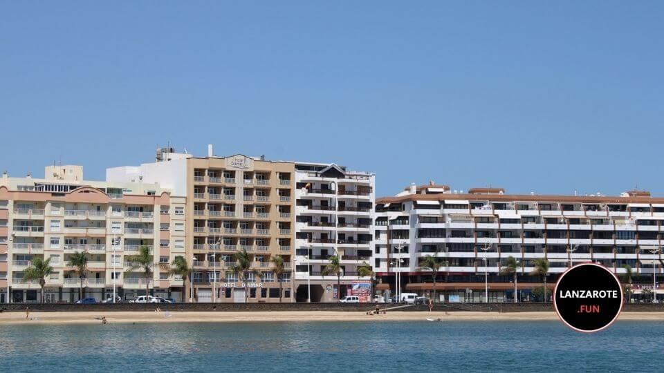 Playa El Reducto - Playas LAnzarote