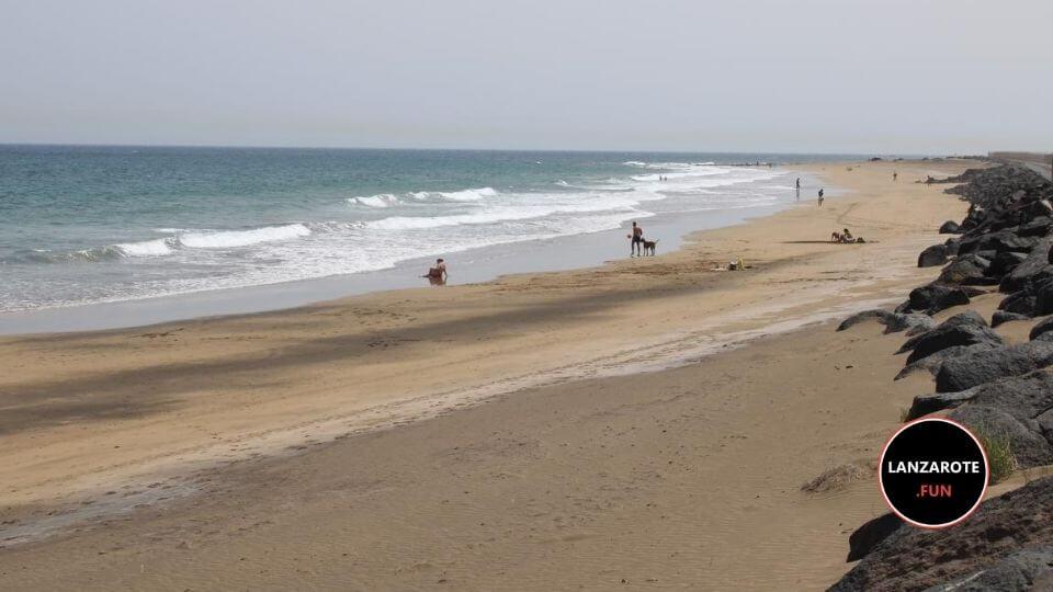 Playa Guacimeta - Puerto del carmen