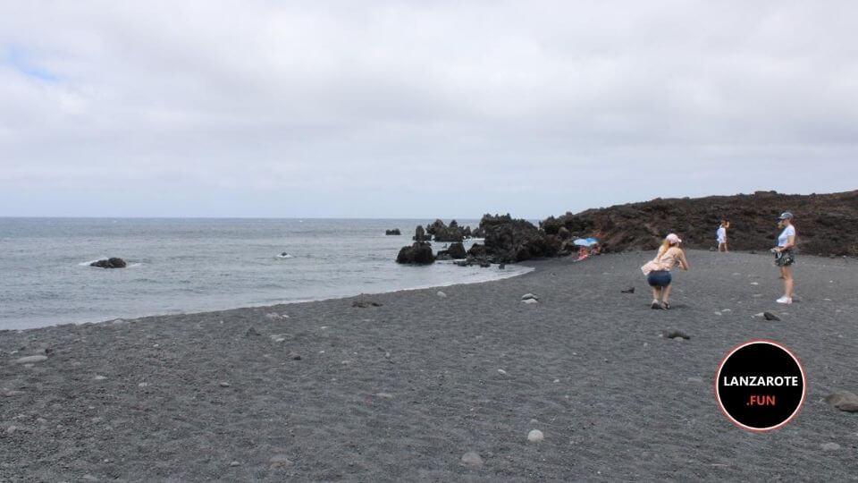 Playa Montaña Bermeja - El Golfo
