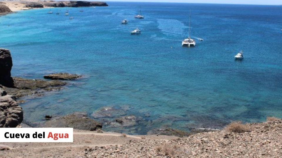 Playa Mujeres - Cueva del Agua