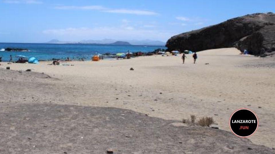 Playa Puerto Muelas Lanzarote