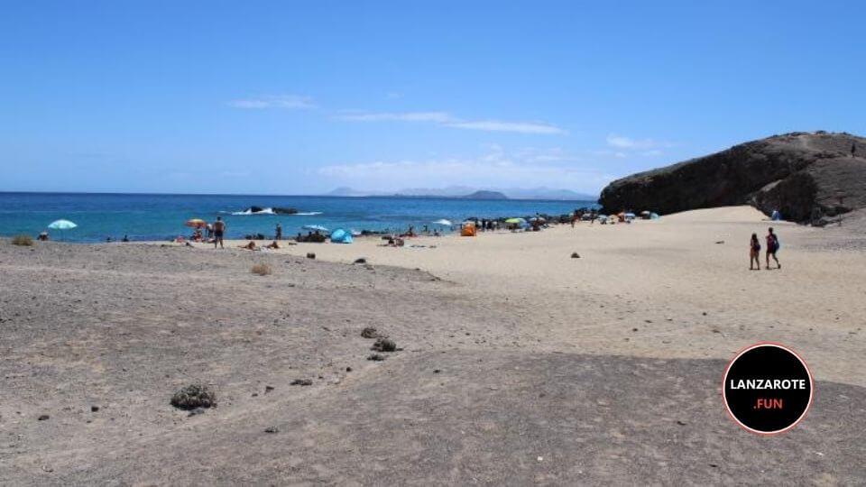 Playa Puerto Muelas - Playa Blanca
