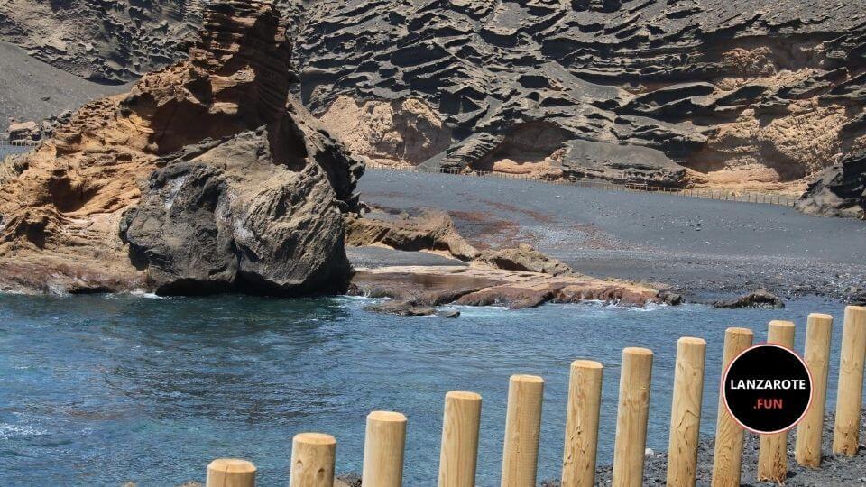 Playa de El Charco de los Clicos Yaiza