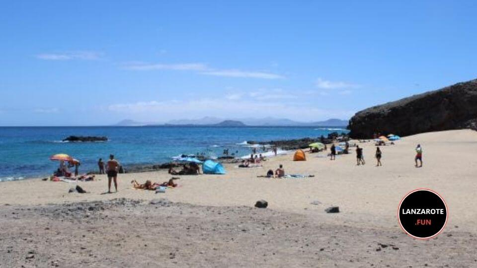 Playa del Camping Playa Blanca