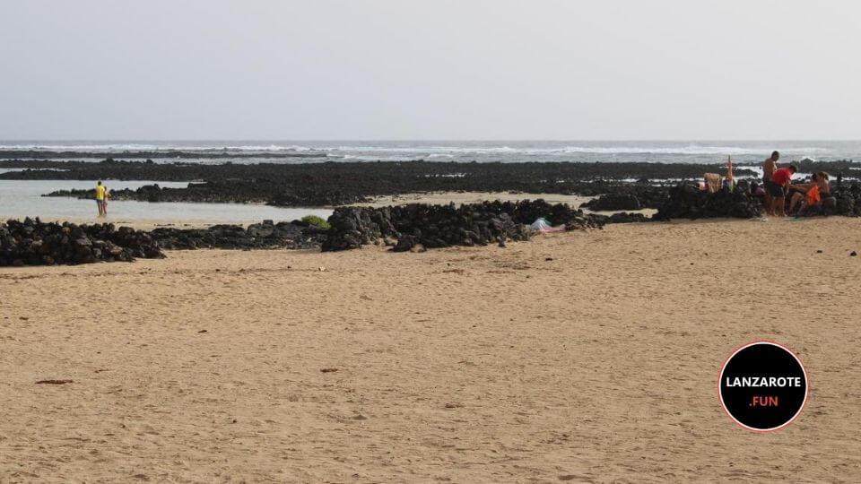 Playas LAnzarote - Playa del Caletón Blanco Lanzarote