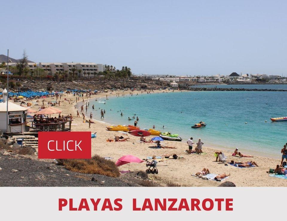 Todas las Playas de Lanzarote Ordenadas por Zonas