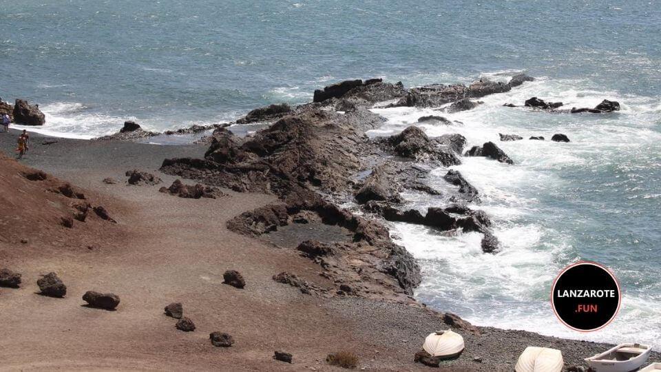Playas Lanzarote - El Golfo