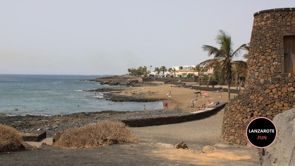 Playas Lanzarote - Playa Bastian