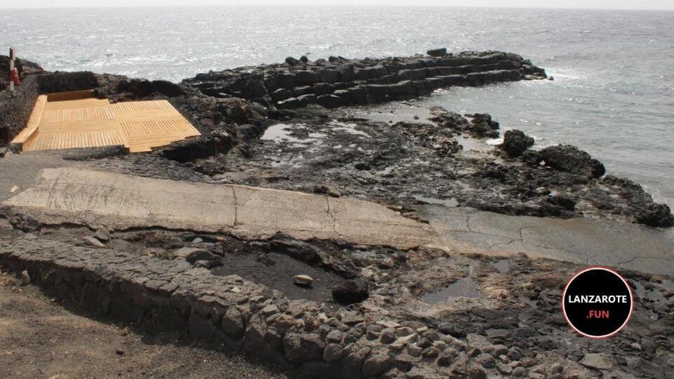 Playas Lanzarote -Playa La Caleta de Guatiza