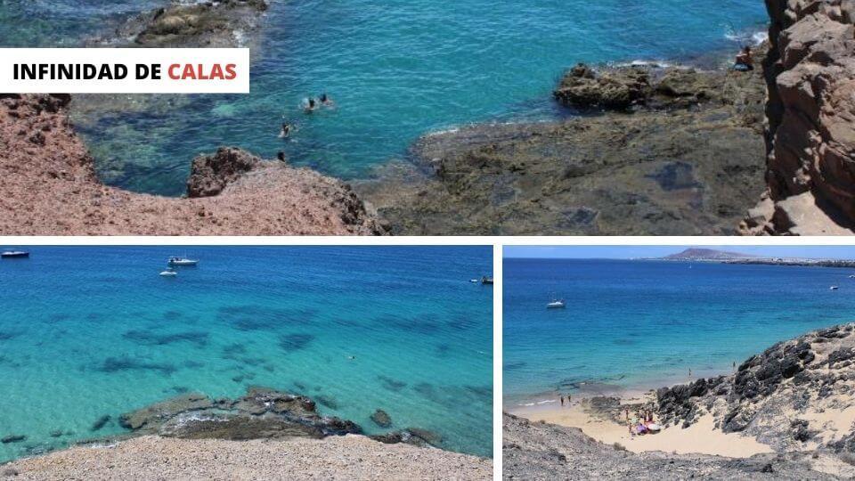 Playas de Papagayo - Calas
