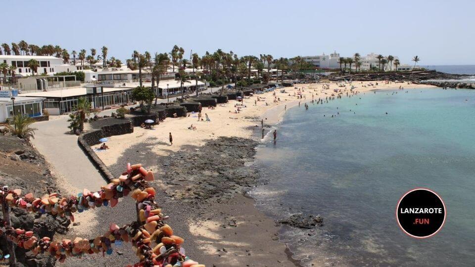 Playas en Playa Blanca - Playa Flamingo